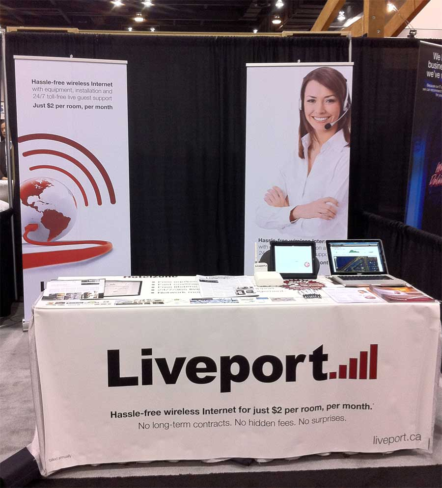 Liveport Booth